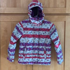 Girls Ski Jacket.  Super cute! Super warm!